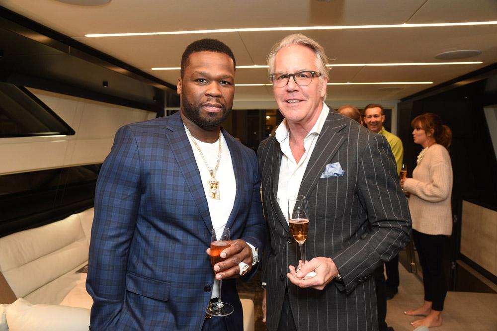 """Curtis """"50 Cent"""" Jackson and John Tolbert."""