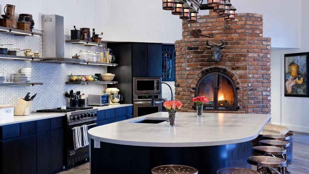The former estate of John Denver, kitchen.