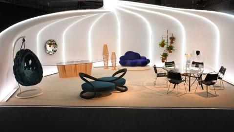Louis Vuitton Design Miami booth