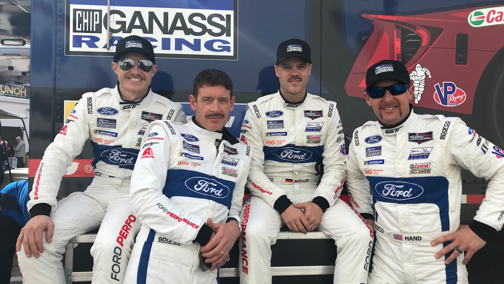 Ganassi Ford GT Drivers