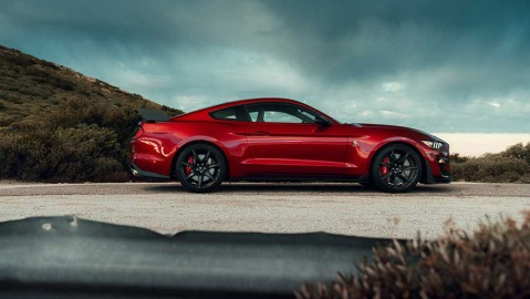 The 2020 Ford Mustang Shelby GT500.