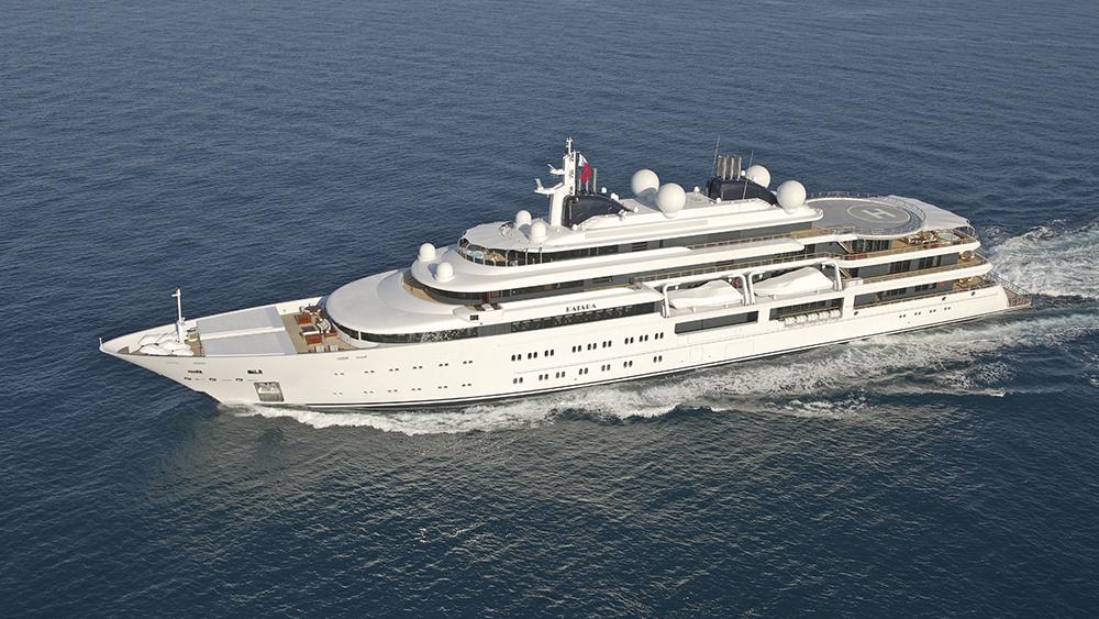 Lürssen Katara largest yachts in the world