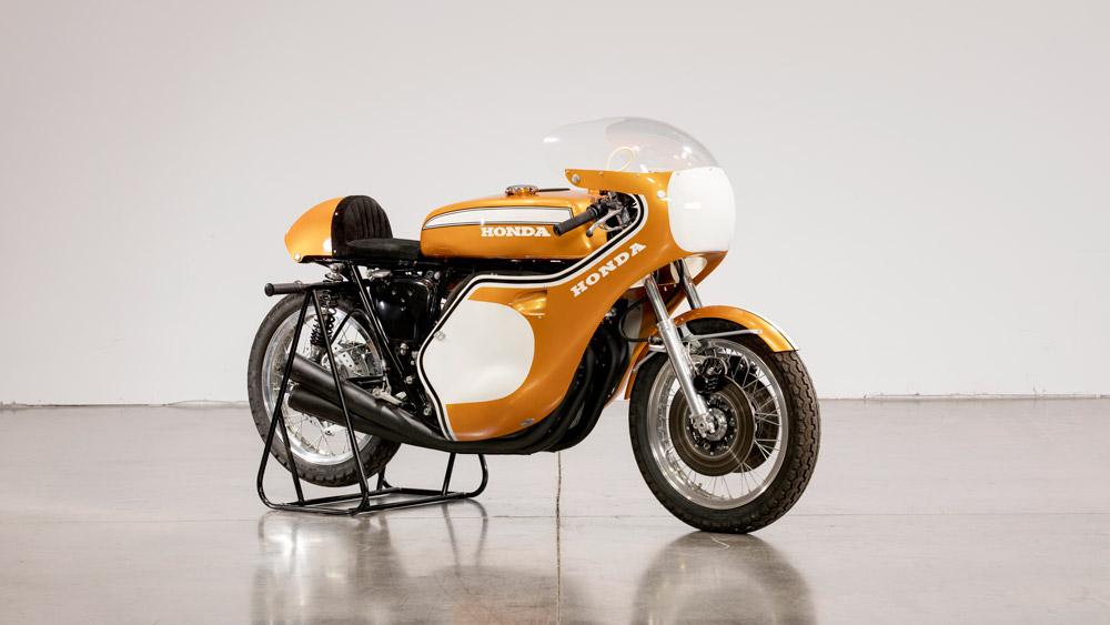 A 1971 Honda CR750 Racer.