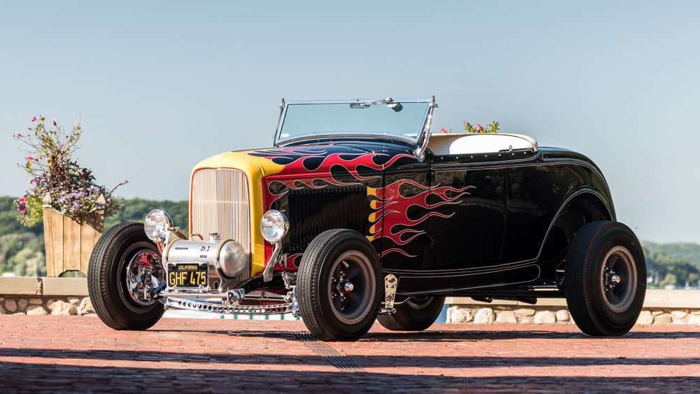 The Tom McMullen 1932 Ford Roadster.