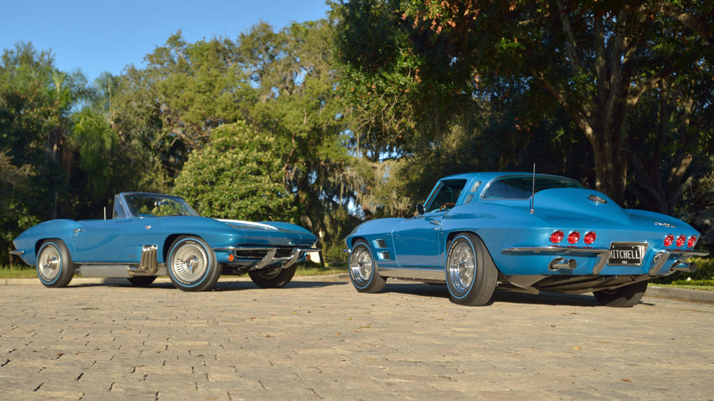 Two GM Styling Department Corvettes from the 1960s.