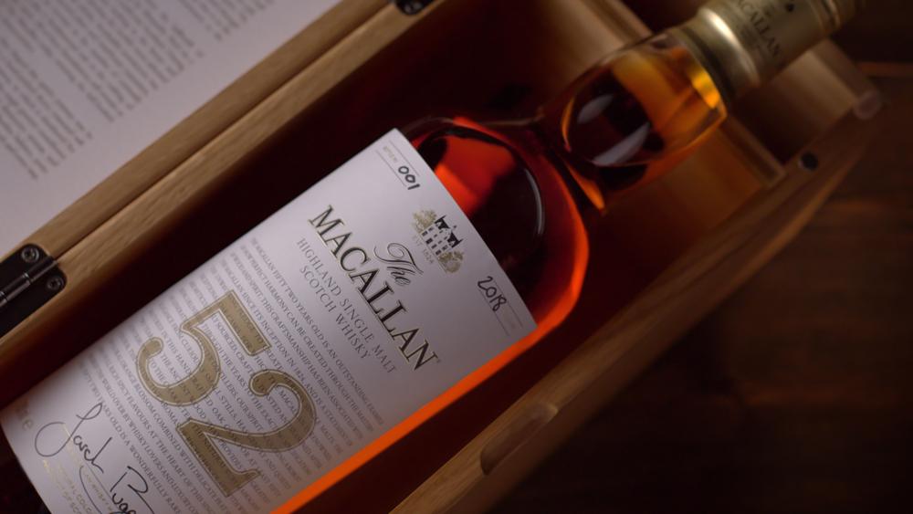 Macallan's 52-Year-Old Scotch