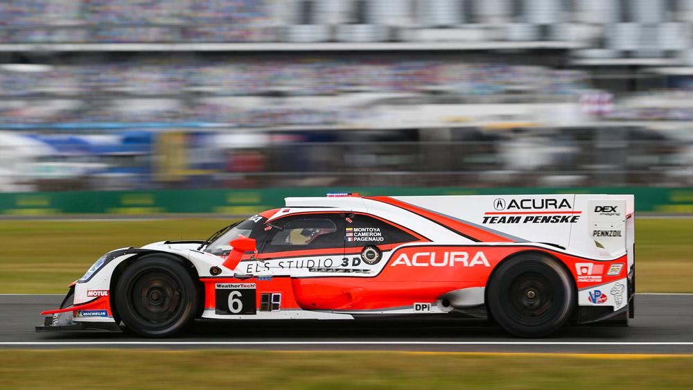 Team Penske's Acura DPi.