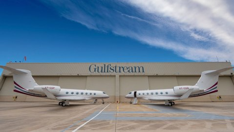 Gulfstream first international delivery G500