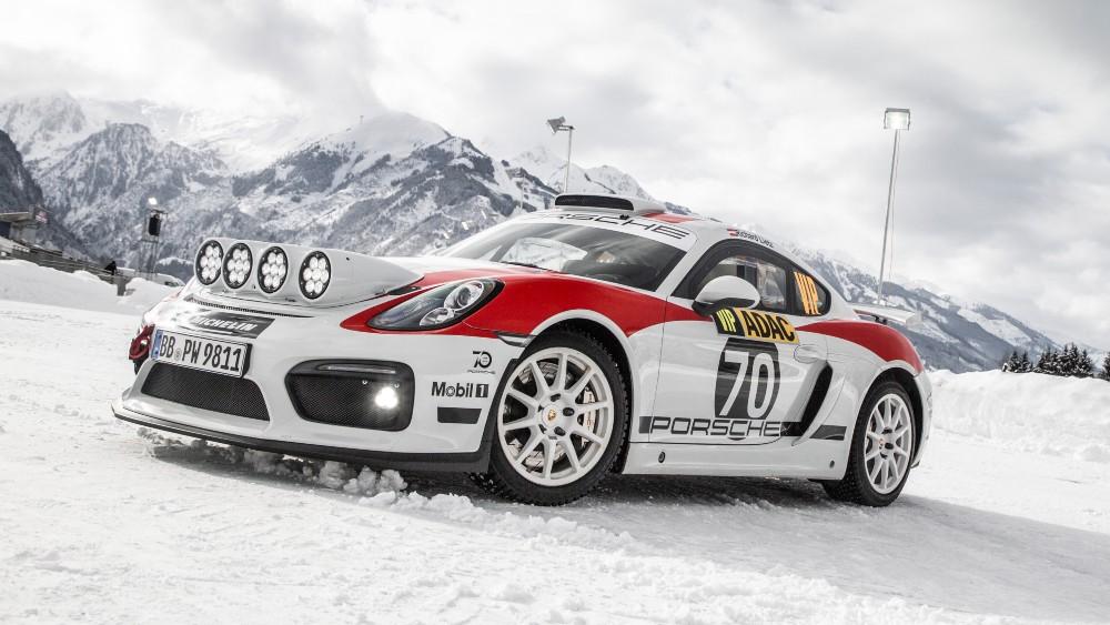 Cayman GT4 Rallye Concept Car, 2018, Porsche AG