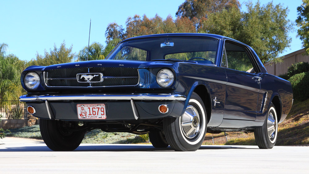 Ford's first pre-production hardtop Mustang.