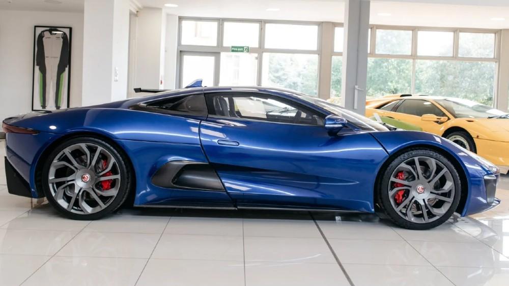 """Jaguar's C-X75 from James Bond's """"Spectre."""""""