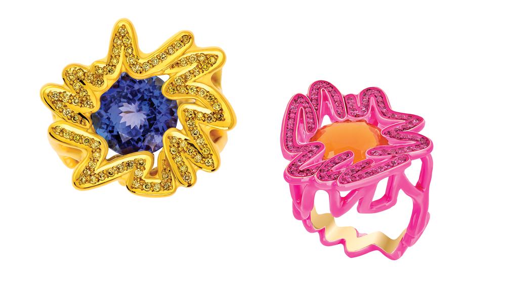 Solange Azagury-Partridge Scribble Ring