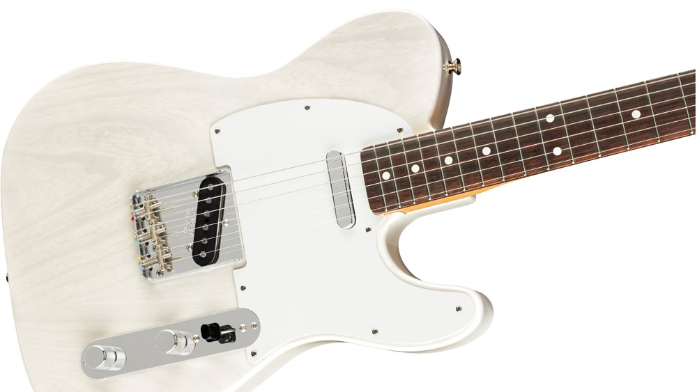 """Jimmy Page and Fender """"White Blonde"""" Telecaster"""