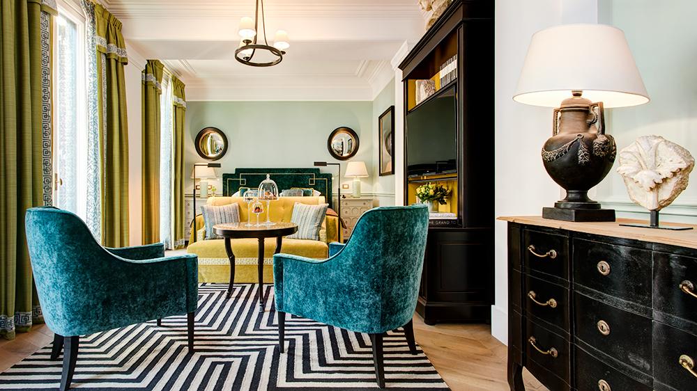 Junior Suite at Rome Hotel de la Ville