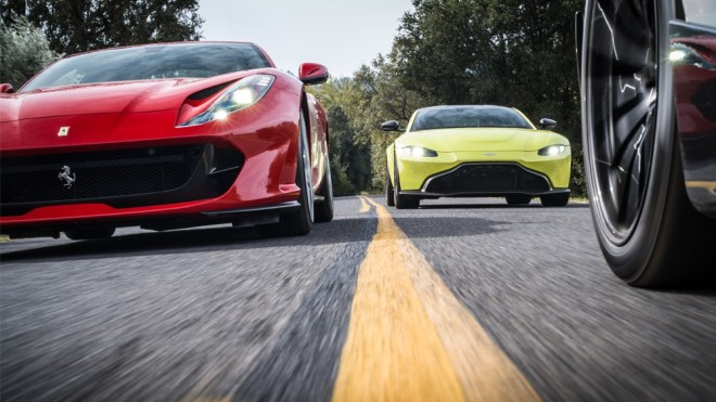 Automobiles competing for the title of Robb Report's Car of the Year for 2019.