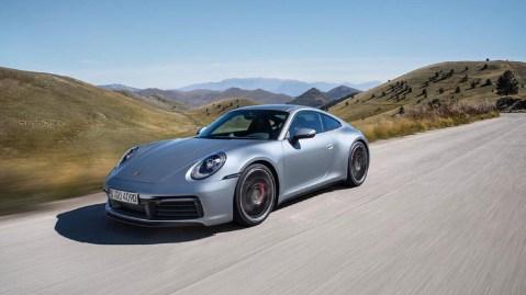 The eighth generation Porsche 911.