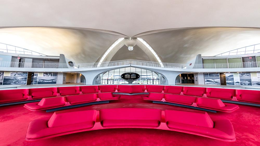 TWA terminal hotel red architecture