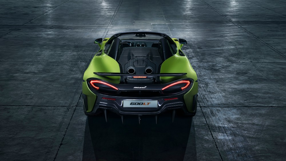 McLaren 600LT Spider Convertible.