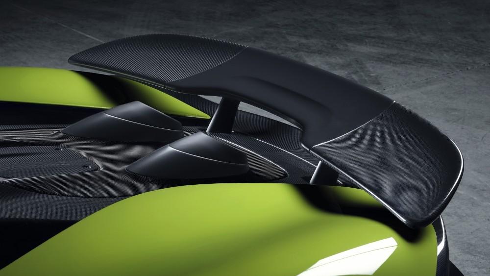 McLaren 600LT Spider Convertible, tail.