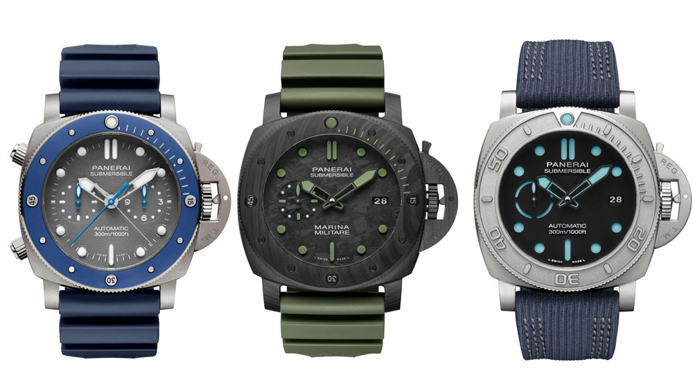 Panerai Submersible Experience Watches