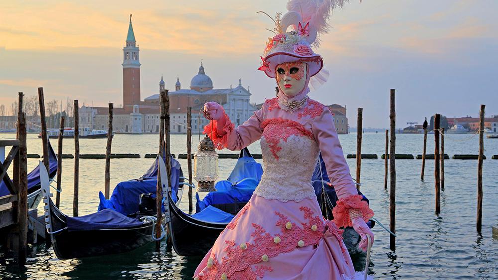 carnival in Venice costume