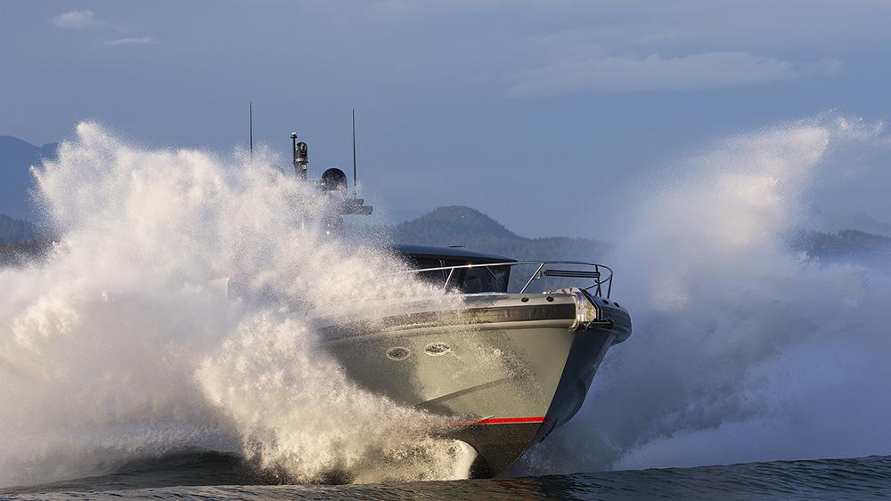 Tactical Custom Boats T-40 Super Adventure