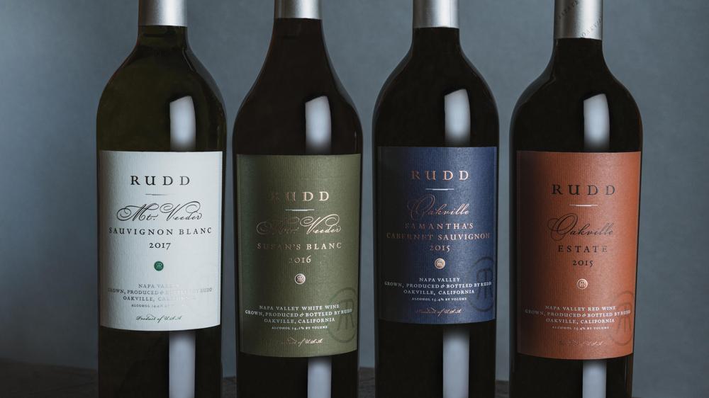 Rudd Estate wine