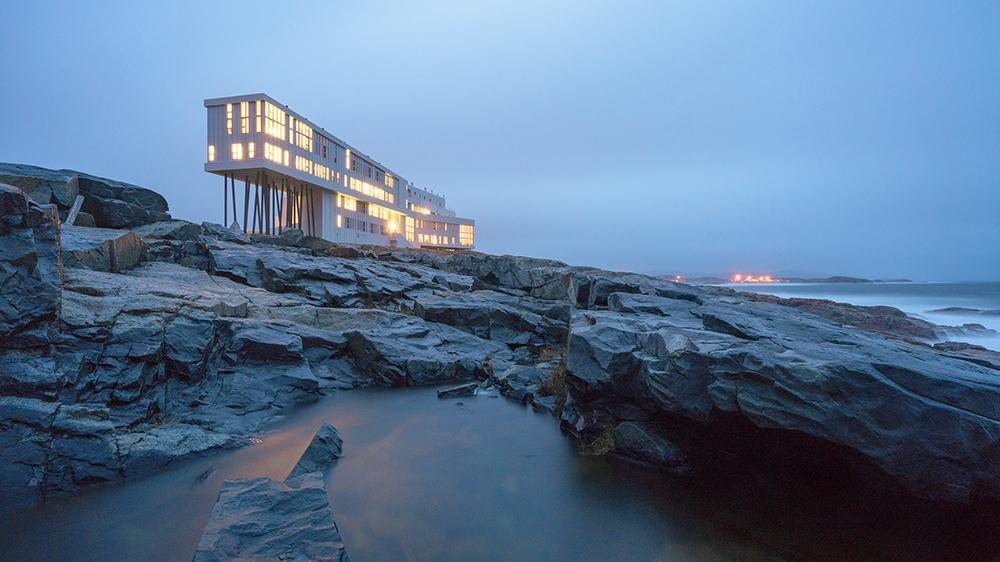 remote resort Newfoundland Canada