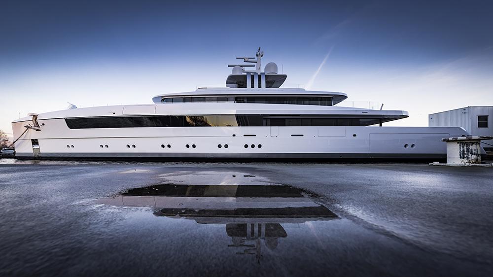 Feadship Vitruvius Yacht Najiba