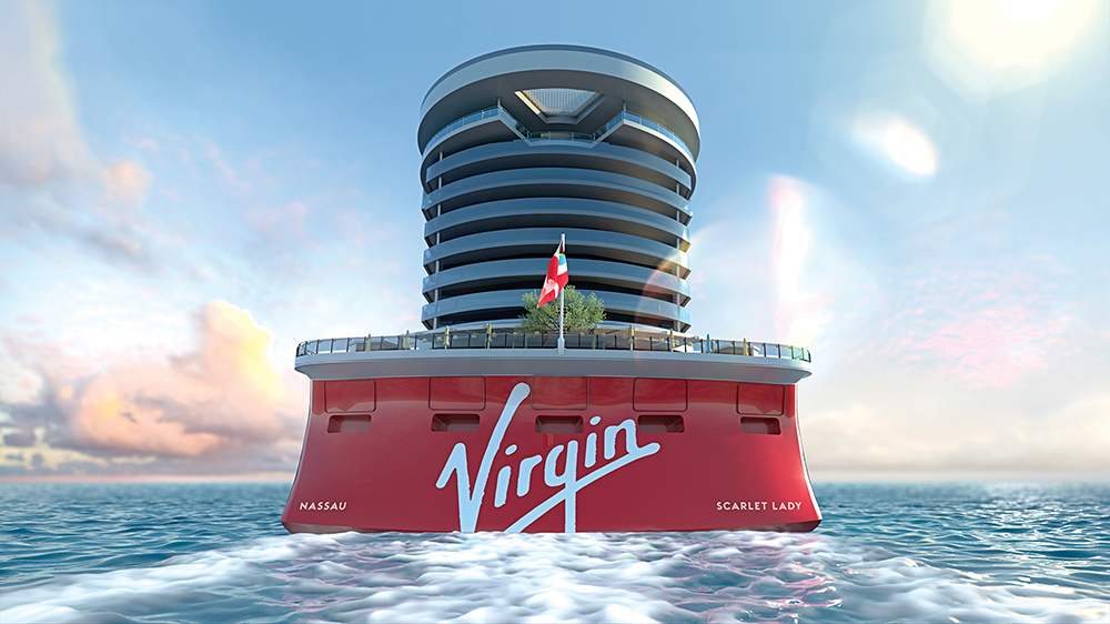 Cruise ship Virgin Voyages ocean