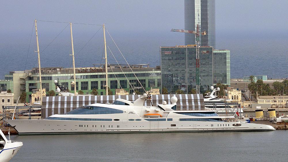 Superyacht Yas in Barcelona