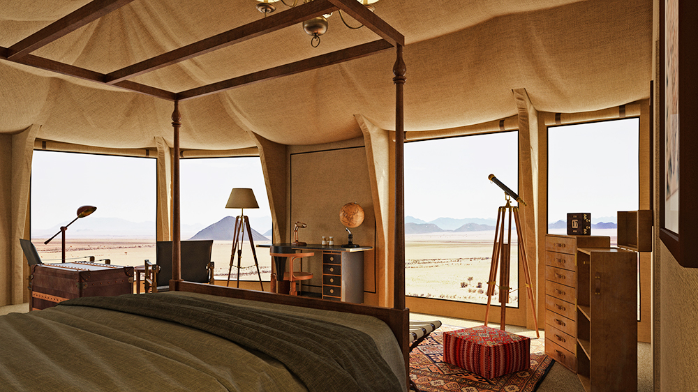 Namibia safari lodge desert Sonop