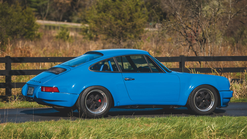 A 1974 Porsche 911 'Outlaw' presented at auction by Gooding & Company.