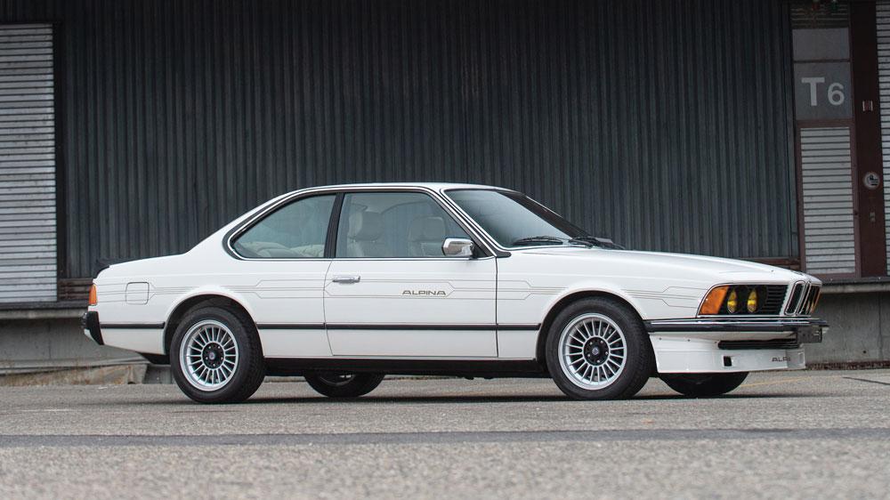 A 1982 Alpina B7 Turbo.