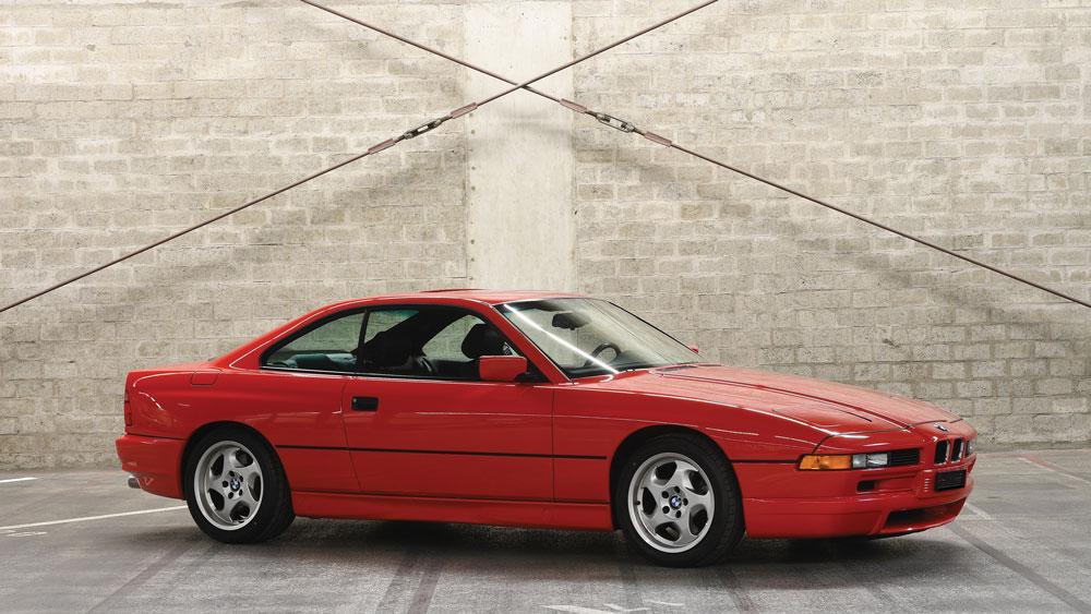 A 1994 BMW 850CSi.