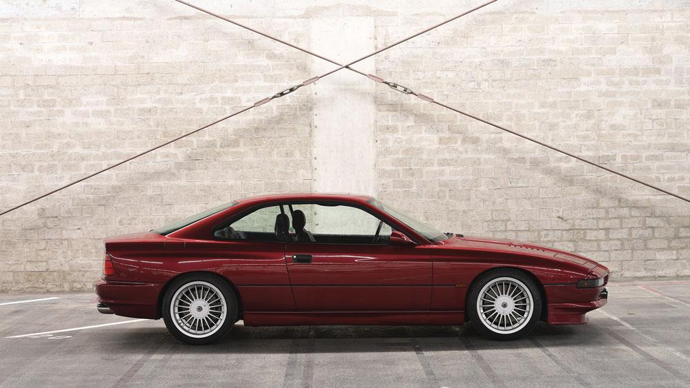 A 1994 BMW Alpina B12.