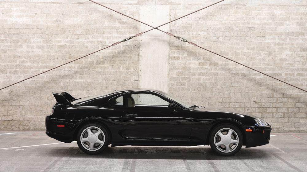 A 1994 Toyota Supra.