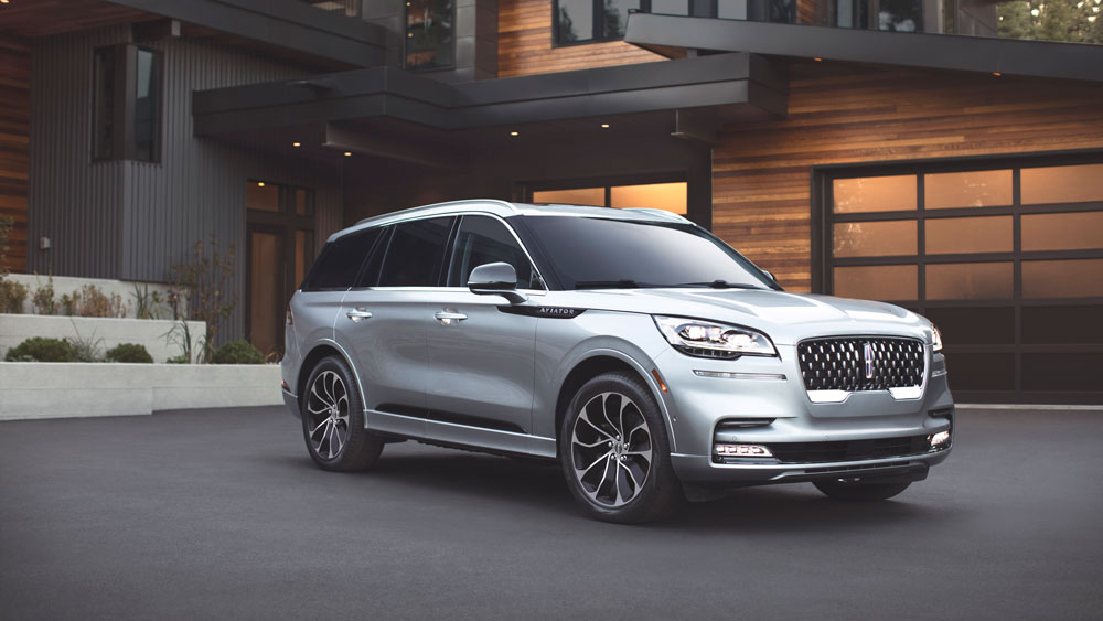 The 2020 Lincoln Aviator.