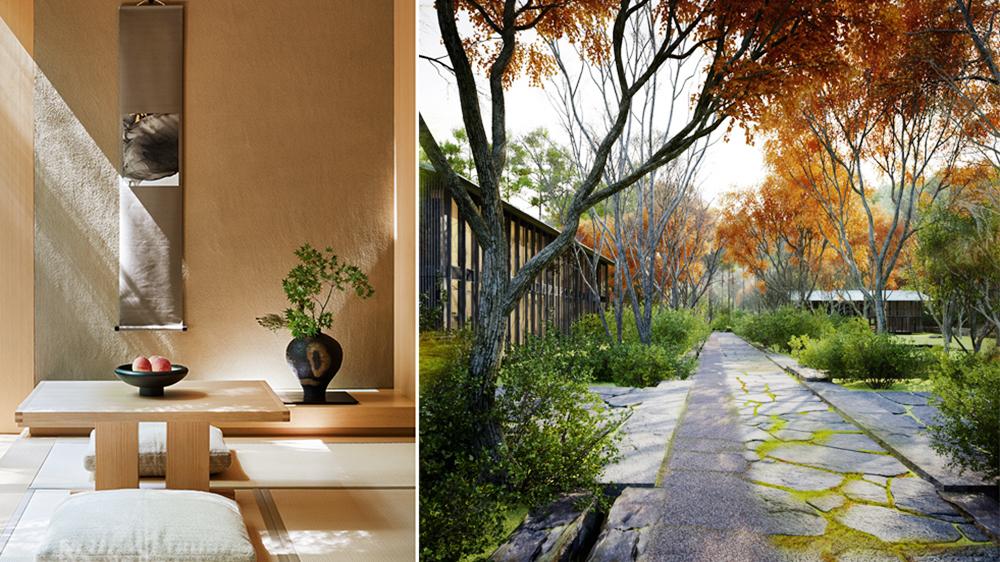 Japanese resort modern Aman