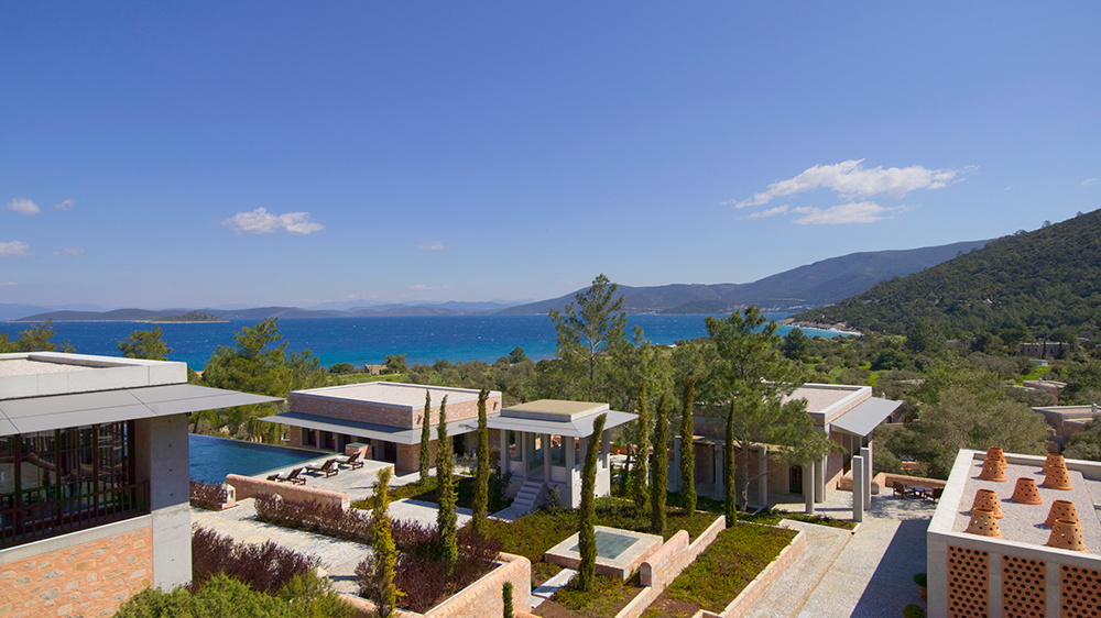 Bodrum resort in Turkey Aegean Sea