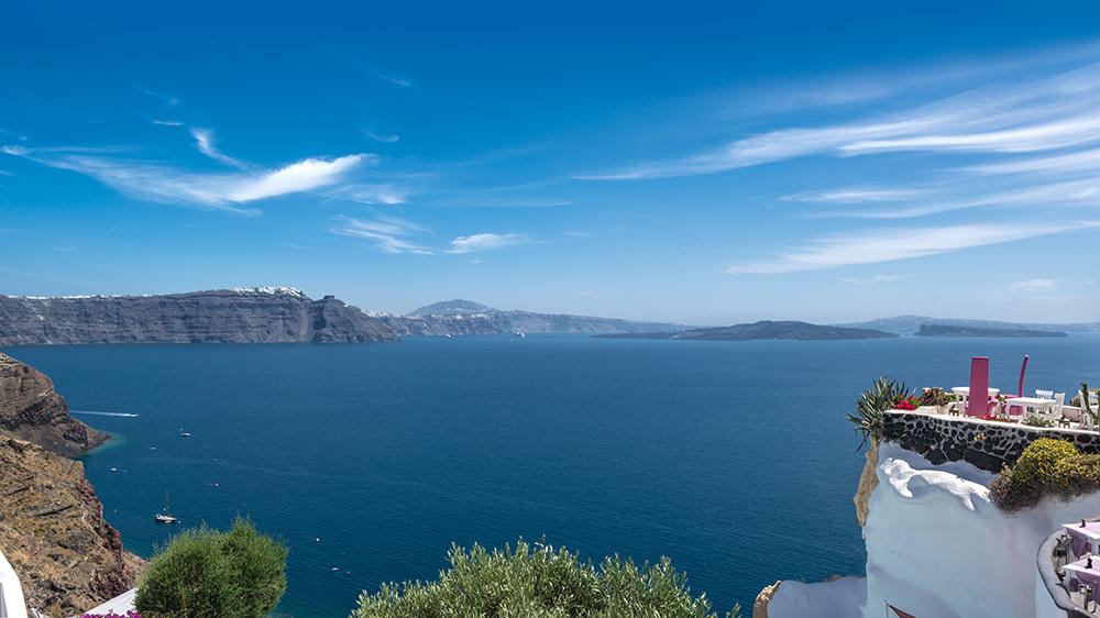 Greece luxury resort