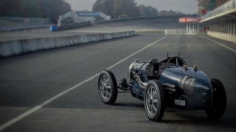 The 1931 Bugatti 51 Grand Prix offered at Rétromobile.