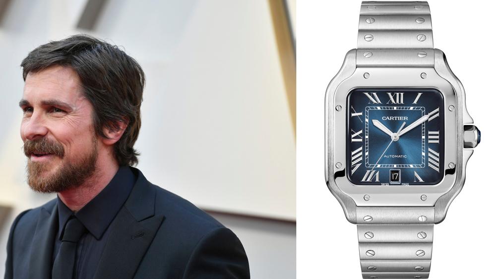 Christian Bale Santos De Cartier