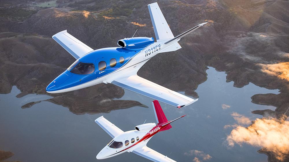 Cirrus G2 Vision Jet