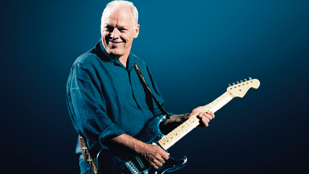David Gilmour with Black Strat