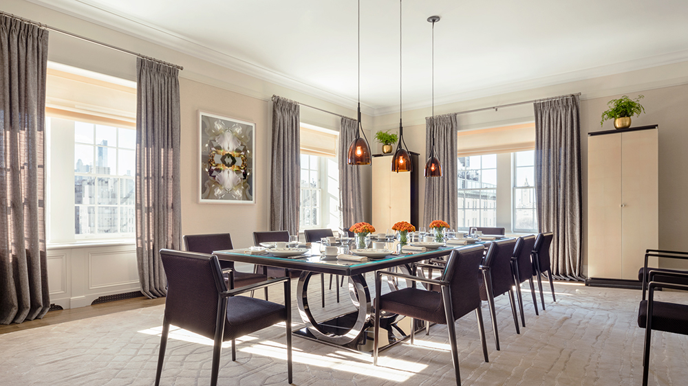 dining room suite penthouse New York City