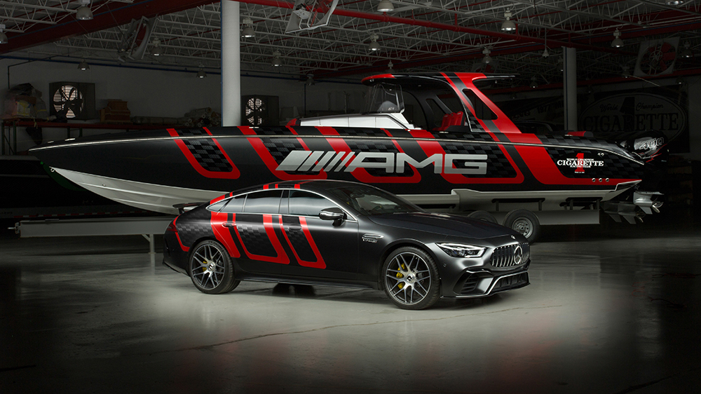 Mercedes-AMG and Cigarette Racing 41 AMG Carbon Edition
