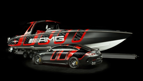 Mercedes-AMG and Cigarette Racing 41 AMG Carbon Edition 41 AMG Carbon Edition