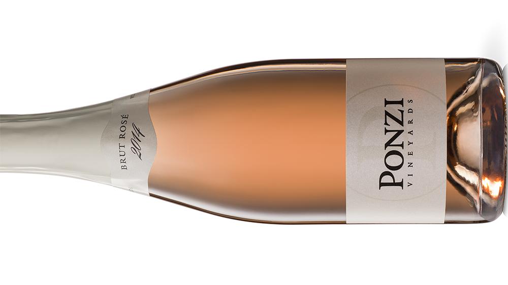 Ponzi Sparkling Brut Rosé wine