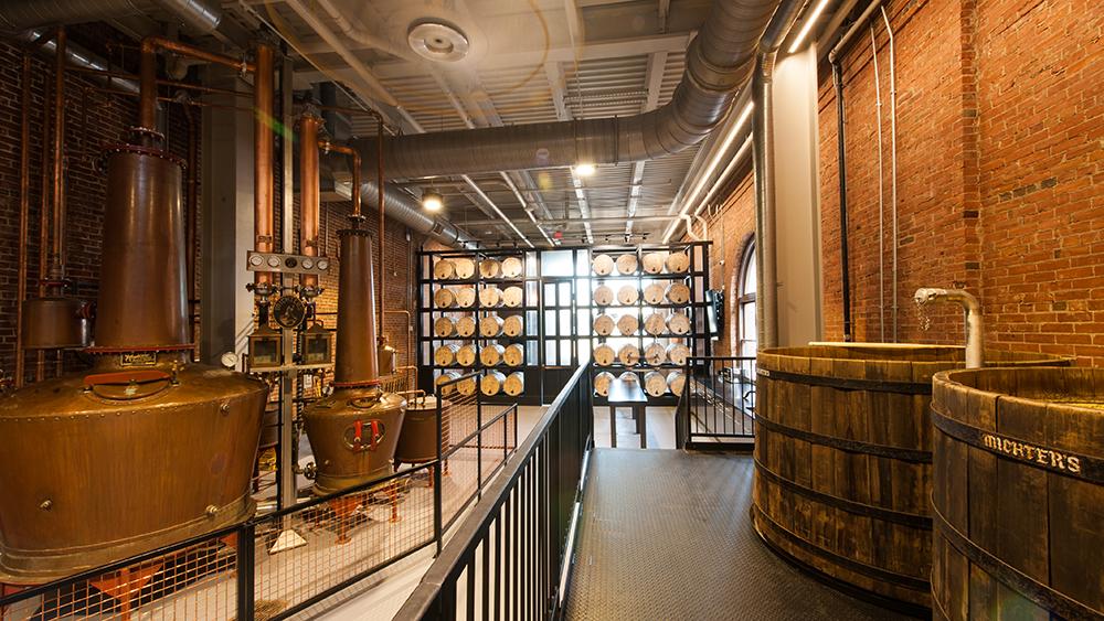 whiskey Michter's distillery
